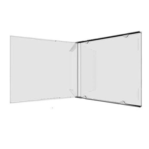 MediaRange box110 – Funda vacía para 200 CD, plástico Transparente.: Amazon.es: Informática