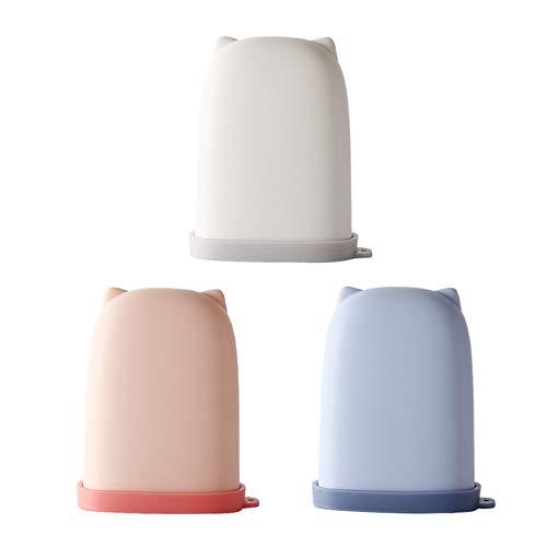 Tomedeks 3PCS jabonera viaje Fuerte Sellado, productos portátiles de baño de viaje al aire libre para el cuidado personal