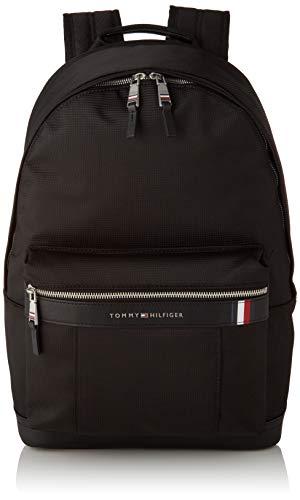 Tommy Hilfiger SMU Elevated Nylon Backpack, Zaino Uomo, Nero (Black), 1x1x1 centimeters (W x H x L)