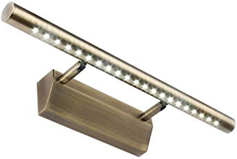 Badezimmerspiegel Beleuchtung LED-Spiegel Beleuchtung vorn, Badezimmer leuchten Retro Schminkspiegelleuchte Make-up Wandleuchte Spiegelschrank Leds, Warmwei, Kaltwei Ligh (Farbe  Wei - 40