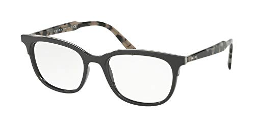 Prada 0PR 05VV Monturas de gafas, Grey, 55 para Hombre