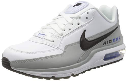 Nike Air MAX LTD 3, Zapatillas para Correr Hombre, Lt Smoke Grey Black White Racer Blue, 42.5 EU