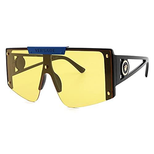 zhuoying Gafas Gafas de sol Modelos femeninos Moda Marco grande Gafas de sol Hombres y mujeres Gafas de sol Gafas-4