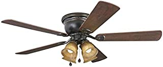 Harbor Breeze Centreville 52-in Oil Rubbed Bronze LED Indoor Ceiling Fan with Light Kit