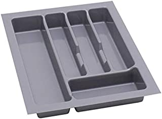 Range Couvert Tiroir Range Couverts Pour Tiroir 40 Rangement Couvert Organisateur Tiroir Cuisine 330 x 430 mm Gris