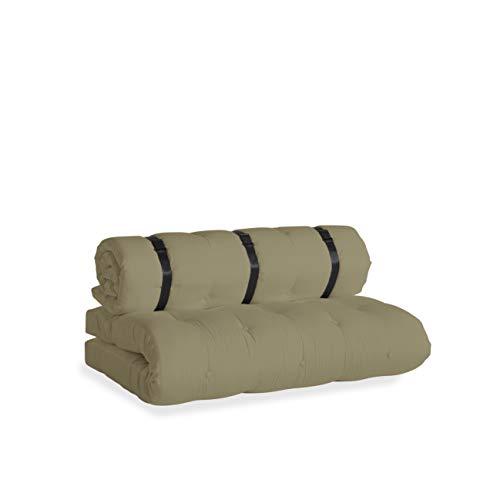 Karup Design Loungesofa und Gartenmöbel von Divano Lounge e mobili da Giardino Buckle Up out, con Tessuto Dralon Resistente allo Sporco e Idrorepellente, Colore: Beige, 140 x 95 x 60 cm