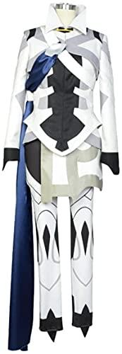 TIANYIP Fire Embleem Awakening Fates Lucina Battle kostuum cosplay kostuum dames XL-S, wit C