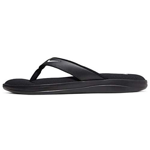Nike Women's, Ultra Comfort 3 Thong Sandal Black 8 M