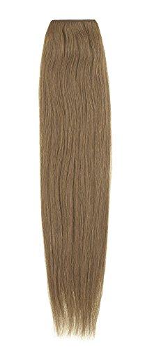 American Dream Extensions capillaires 100% cheveux humains 50,8 cm qualité Platine – Couleur 27 – Blond Riche