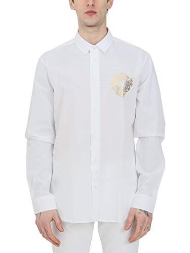 Versace Jeans Couture Camicie Uomo Bianco B1GWA6S530421 003