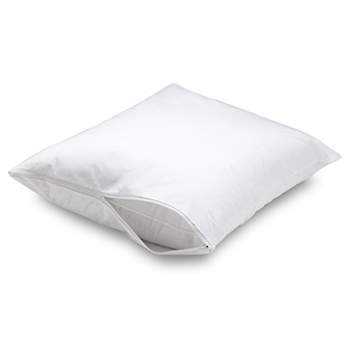 Aller-Ease Water Proof Allergy Protection Zippered Pillow...