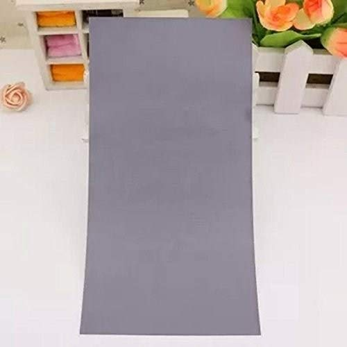 Self Adhesive Fabric Repairing Patches for Jackets, Sofa, for Clothing (Width 3.93' x Length 7.08') 3PCS/Pack (Grey)