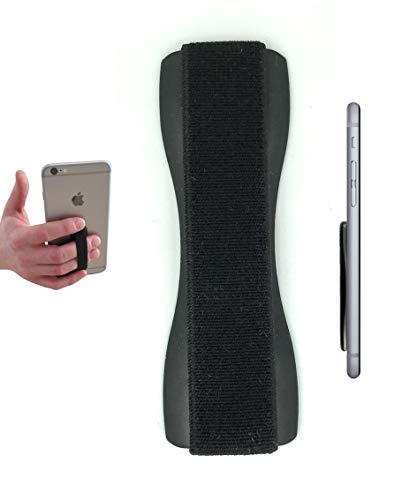 Case-Hero Premium Smartphone Fingerhalterung   inkl. ERSATZKLEBER   EINHAND Modus für Handy, Tablet, eReader   Hülle & Case   Auto Outdoor Finger Halterung   iPhone 6/7/plus, iPad, Samsung Galaxy.