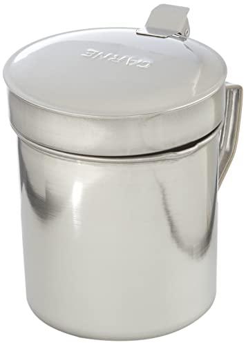 IBILI 700001-Vaso a filtrare l'olio di Carne in Acciaio Inox, 0,5 l