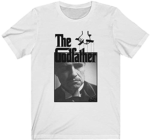 The Godfather Retro Movie T Shirt Gift Tee for Men Women Unisex T-Shirt Unisex T-Shirt (Black-4XL)