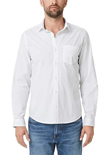 s.Oliver Herren 03.899.21.5240 Businesshemd, Weiß (White 0100), X-Large (Herstellergröße: XL)