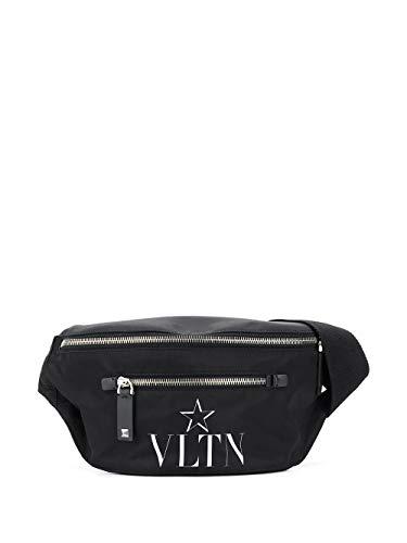 Luxury Fashion | Valentino Heren TY2B0664MFG0NO Zwart Synthetische Vezels Heuptas | Lente-zomer 20