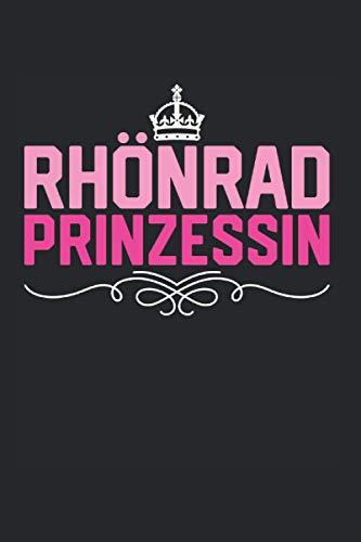 Rhönrad Prinzessin: Rhönrad & Rhönradturnen Notizbuch 6'x9' Turnerin Geschenk Für Rhoenrad & Turnen