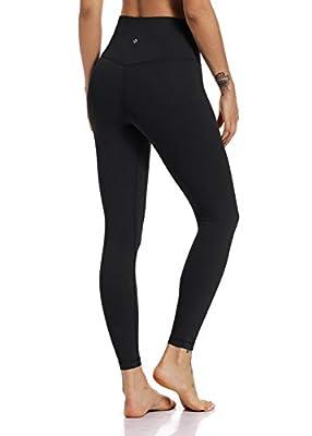 "Hawthorn Athletic 7/8 Length Women's High Waist Buttery Soft Yoga Pants Slimming Active Legging -25'' HA005_Black_25"" XL(14)"