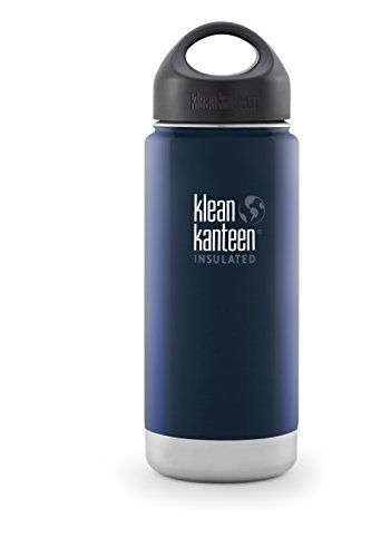 Klean Kanteen(クリーンカンティーン) ワイドインスレート ボトル 16oz ディープシー 19320012202016