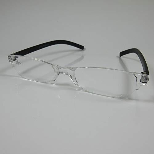 SCHILDGEN Einfache rahmenlose Lesebrille +3,0 schwarz für SIE & IHN Fertigbrille
