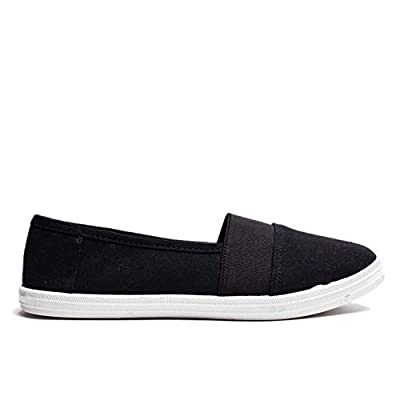 Susan 18 Slip On Sneakers for Women; Casual, Comfortable, Canvas Ladies Shoes