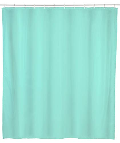 Allstar Duschvorhang Zen Grün - wasserabweisend, leicht zu pflegen, Polyethylen-Vinylacetat, 120 x 200 cm, Grün