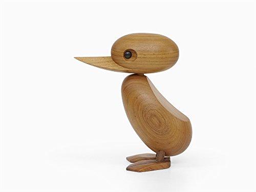 ハンス・ブリング ダック Hans Bolling Duck リプロダクト品 (チーク材) / オブジェ 置物 北欧雑貨