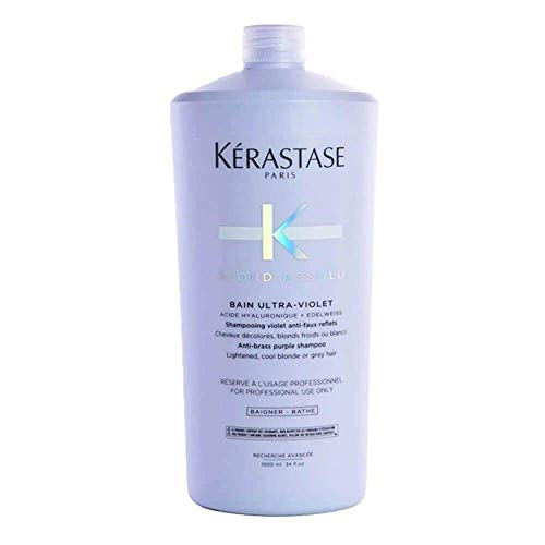 Kerastase Blond Absolu Bain Ultraviolet Shampoo - 1000 ml