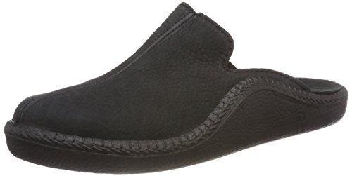 Romika Herren Mokasso 202 Pantoffeln, Schwarz (Schwarz 100 100), 42 EU