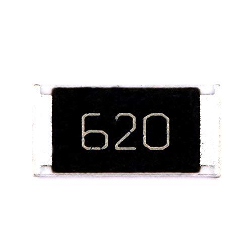 DIYElectronic 50 pcs 2512 SMD Chip Resistor 62 ohm 62R 620 1W 5% Passive Components Resistors