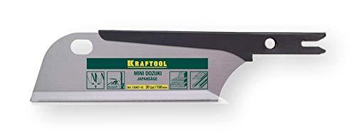 Kraftool Ersatzsägeblatt Mini Dozuki 150 mm, 20 Zähne pro Zoll, für Japansäge Dozuki.
