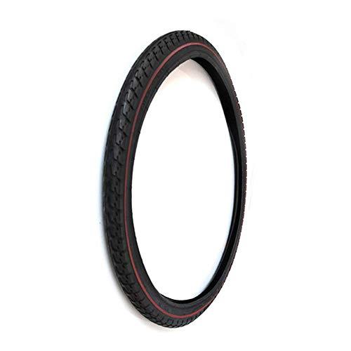 Neumáticos de bicicleta, neumáticos interiores y exteriores neumáticos de 24 x 1,75, nueva banda de rodadura antideslizante más profunda, caucho de alta elasticidad resistente al desgaste, acceso