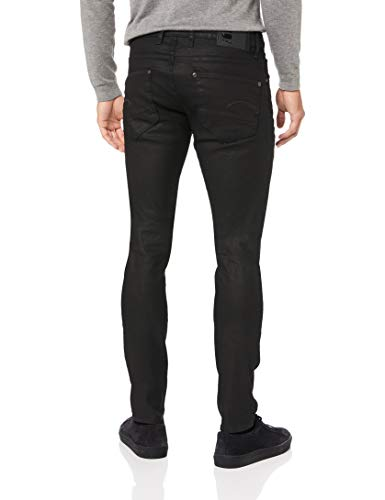 (ジースターロゥ)G-StarRawREVEND・スーパースリムフィットジーンズ・ブラックデニム・メンズ51010-710129673ddarkagedW33xL32