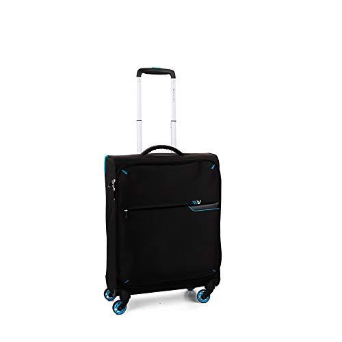 Roncato Maleta Pequeña XS Blanda S-Light - Cabina cm. 55 x 40 x 20 Capacidad 40 L, Ligero, Organización Interna, Aprobado para: Ryanair Easyjet Lufthansa, Garantìa 2 años