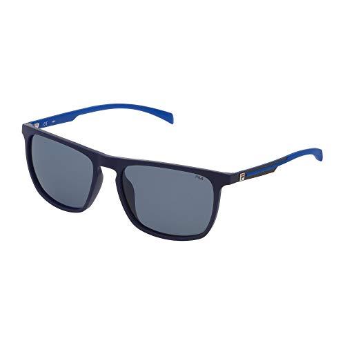 Fila SF9331 7SFP 58-17-145 - Gafas de sol unisex, color azul mate