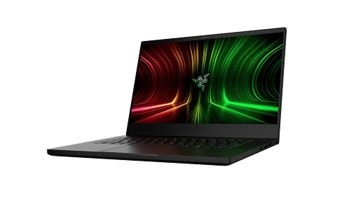 Razer Blade 14 - AMD Gaming Laptop: Portátil de 14', con Pantalla QHD de 165 Hz (Procesador AMD Ryzen 9 5900HX, NVIDIA GeForce RTX 3070, 16GB RAM, 1TB SSD, Chroma RGB) Teclado Español