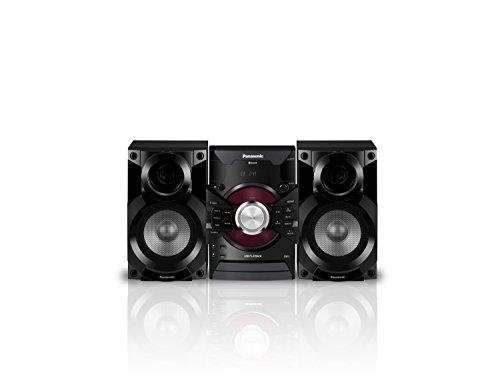 Panasonic MAX DJ Jukebox Sound System SC-AKX18 (Black) Bluetooth and USB Music Play, Smartphone Control