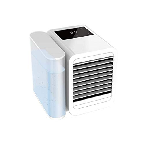 XIAOYAN Cold fan Evaporative Coolers Air Conditioner, 3 in 1 Mini USB Personal Space Air Cooler,Humidifier,Purifier,Desktop Cooling Fan with Adjustable Multi-speed Adjustable (Color : -, Size : -)