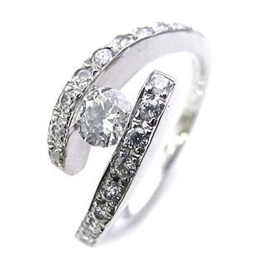 中絶研磨剤敬な( 婚約指輪 ) ダイヤモンド プラチナエンゲージリング( Brand Jewelry Angerosa ) #6