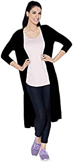 Enamor Athleisure E045 Women's Long Line Shrug