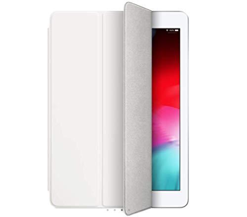 OvaXtL - Funda rígida para iPad de 10,2 pulgadas (7ª generación y 8ª generación 2020, cierre magnético, piel sintética), color blanco