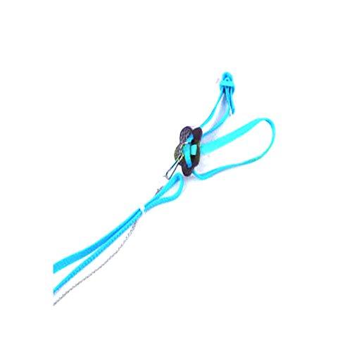 Xiton Correa de Cuerda de tracción Ajustable Suave arnés para pequeño Loro Mascota (Color Aleatorio 1pc)