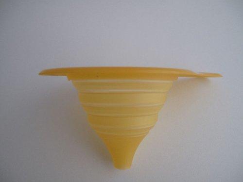 TUPPERWARE Küchenhelfer Trichter Mini-Max Trichter orange faltbarer Trichter