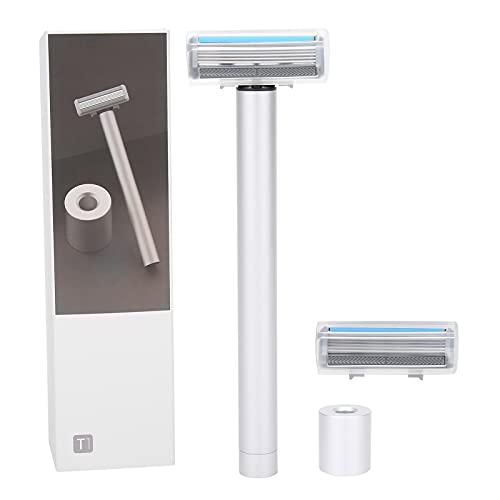 Maquinilla de afeitar eléctrica para hombres, maquinilla de afeitar eléctrica de doble...