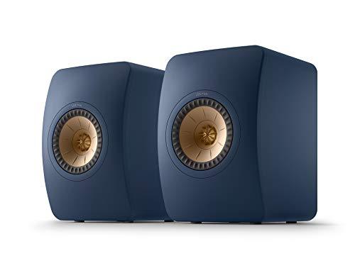 Enceinte bibliothèque KEF LS50 Meta Royal Blue,   HiFi   Home Cinema   40 à 100 Watts