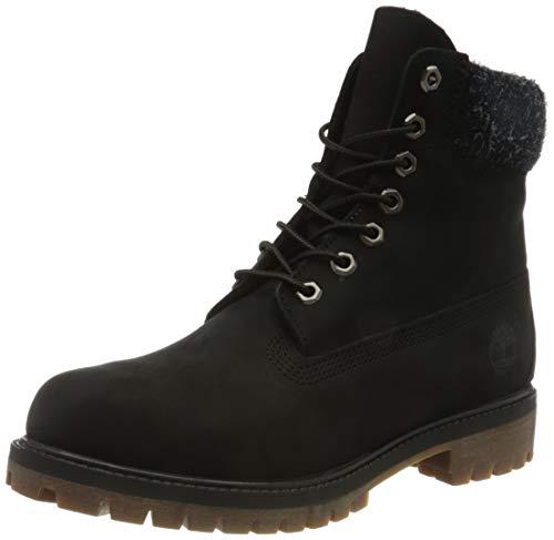 Timberland Herren 6 In Premium Boot Klassische Stiefel, Schwarz (Black A1uej), 43.5 EU