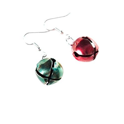Red & Green Jingle All The Way Earrings