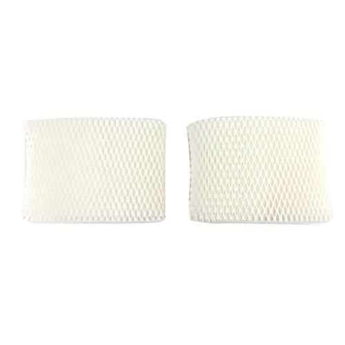 Weilifang 1/2 Stück Ersatz für HU4801 HU4802 HU4803 HU4811 HU4813 Papierfilter Filter HU4102 Zellstoff Papier Luftbefeuchter Absorbent Filter