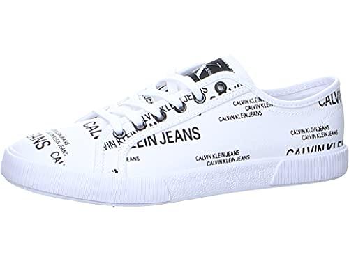 Calvin Klein Jeans YM0YM00077 Sneakers Hombre Blanco 41